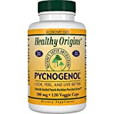 Healthy Origins Pycnogenol (Nature's Super Antioxidant) 100 mg, 120 Count