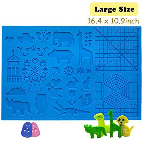 3D Pen Mat 16.4 x 10.9 inch, large 3D...