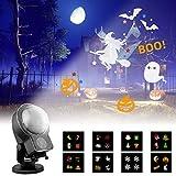 Albrillo Projecteur de Noël LED - 8 Diapositives + Neige Dynamique, Lampe...
