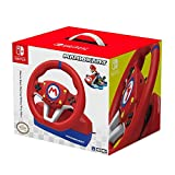 Hori Nintendo Switch Mario Kart Racing Wheel Pro Mini By - Officially Licensed By Nintendo -...