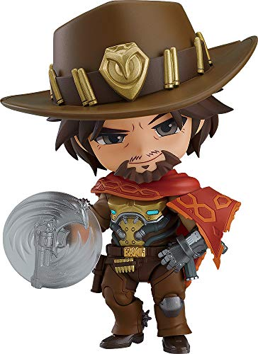 Overwatch boneco nendoroid mccree n. 1030 original good smile co.