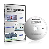 HIIT Rebound Compilation 1 DVD containing 3 high energy Mini Trampoline workouts. Our Rebounding DVD will Burn fat & get into great shape FAST! Claim 20% cash back on all our Rebounders. See below