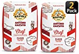 Antimo Caputo Chefs Flour 2.2 LB (Pack of 2) - Italian Double Zero 00 - Soft Wheat for Pizza Dough, Bread, & Pasta