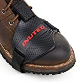 シフトガード バイク用 プロテクターパッド 保護カバー 改良高品質 耐摩耗性向上 シフトパッド 抜け落ちにくい 滑り止め 傷から靴を守る で取り付け簡易