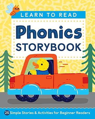 Learn to Read: Phonics Storybook: 25 Simple Stories &...