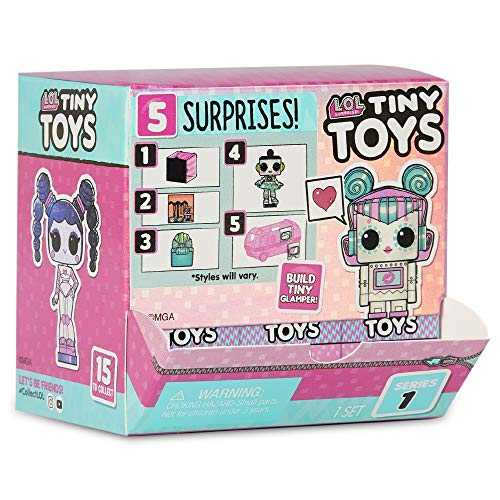 Image 14 - L.O.L. Surprise, Tiny Toys - Coffret 5 Surprises dont 1 tiny 1,5cm, Accessoires, pièce de Glamper, Fonction Eau Surprise, Modèles Aléatoires à Collectionner, Jouet pour Enfants dès 3 Ans, LLUB5