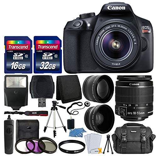 Canon EOS Rebel T6 Digital SLR Camera with 18-55mm EF-S f/3.5-5.6...