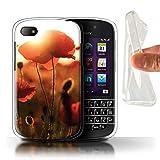 Stuff4 Coque Gel TPU de Coque pour Blackberry Q10 / Capturez Lumière...