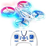 Force1 UFO 3000 LED Mini Drones for Kids - Small RC Drones for...
