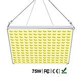 Roleadro 75W Lampe LED Horticole Croissance Floraison Grow Light, Panneau...