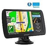 GPS 9 Pouces pour Voiture et Poids Lourds, Cartes de 48 Pays européens avec...