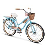 Huffy 24' Panama Jack Beach Cruiser Bike, Sky Blue
