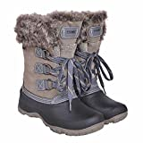 Khombu Women's The Slope Winter Snow Boots Grey Size 8