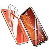 ESR iPhone XR ケース クリア ソフトカバー 薄型 透明tpu 【 指紋防止 落下防止 黄変防止 ガラ……