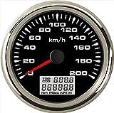 ELING Auto GPS Tachometer Velometer 0–200km/h Geschwindigkeit Kilometerzähler fahrleistung für...