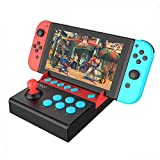 IPEGA PG-9136 Gamepad Mobile Joystick Single Rocker Control Trigger Controller Joypad for Nintend Switch Game Console Plug and Play(Such as Mario Series, Street Fighter2, etc.)