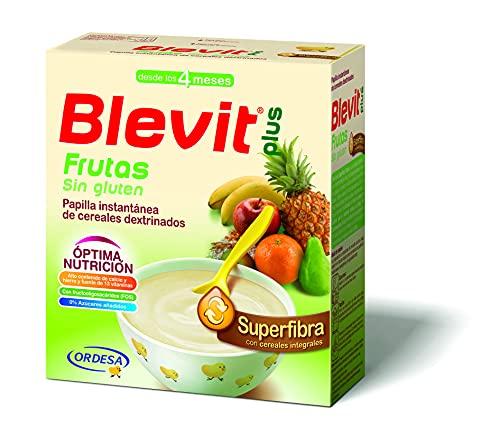 Blevit Plus Superfibra Frutas - Papilla de Cereales para Beb