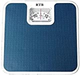 RTB Original Deluxe Personal Manual Analog Weighing Scale upto 130 kgs capacity for human body weight machine,BATHROOM SCALE(Mechanical Weighing SCALE) BLUE