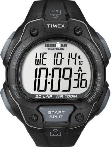 タイメックスTIMEX アイアンマン 50ラップ フルサイズ ブラック T5K495 メンズ T5K495 メンズ 【正規輸入品】