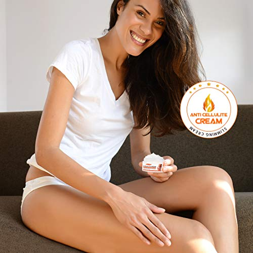 Anti Cellulite Cream, Slimming Cream for Tummy, Abdomen, Belly and Waist - Firming Cream - Hot Cream for Weight Loss, Body Fat Burning Massage Gel - 100g 6