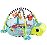 Orient Home Design Baby Cartoon Toys Grow with Me Activity Gym Play Mat and Ball Pit Infant Floor Blanket Educational Gym Mats Kids Rug Activity Climbing Carpet Tuetle