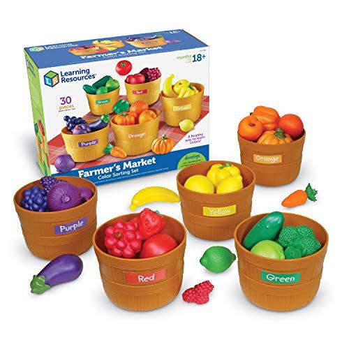 Farmer's Market Fruit and Vegetable Toys