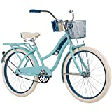 Huffy 26' Nel Lusso Women's Classic Cruiser Bike Frame, Light Blue