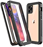 RedPepper Designed for iPhone 11 Pro Max case, Clear Full Body Heavy Duty Protection with Built-in Screen Protector Shockproof Rugged Cover Designed for iPhone 11 Pro Max 6.5 inch