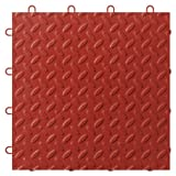 Gladiator GAFT48TTYR Red Floor Tile, 48-Pack
