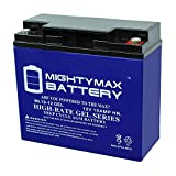 Mighty Max Battery 12V 18AH Gel Replacement Battery for FM12180 Brand Product