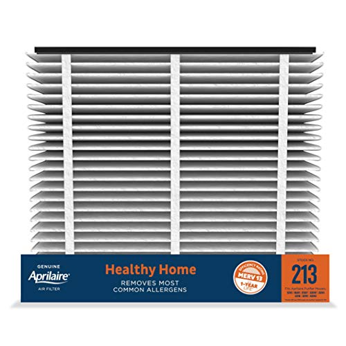 Aprilaire - 213 A1 213 Replacement Air Filter for Whole Home Air Purifiers, Healthy Home Allergy Filter, MERV 13 (Pack of 1)