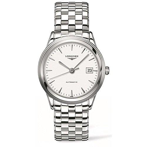 Longines Herren-Armbanduhr Armband Edelstahl + Gehäuse Automatik L48744126