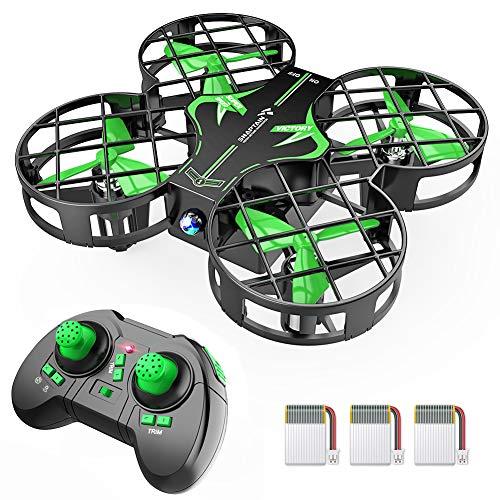 SNAPTAIN H823H Mini Drone per Bambini, Funzione Hovering, Funzione Lancia&Vola, modalit Senza Testa, Rotazione a 360, Decollo/Atterraggio a Un Tasto, velocit Regolabile