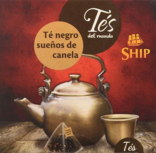 Ship - Té Pirámide Sueños de Canela en Caja de 15 unidade