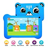Kids Tablet, Android 9.0 Tablet for kids with WiFi 2GB+16GB Parents Control & Kids Mode Pre-Installed Kid-Proof Silicone Case Supported YouTube 7'IPS HD Display Kid Friendly and Use Friendly