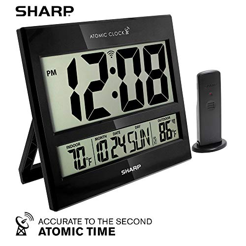 Sharp Atomic Clock - Atomic Accuracy -...