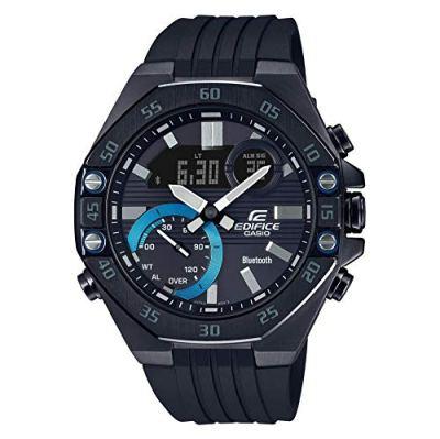 Casio Edifice Full-Time Smartphone Link Chronograph Black Watch ECB10PB-1A