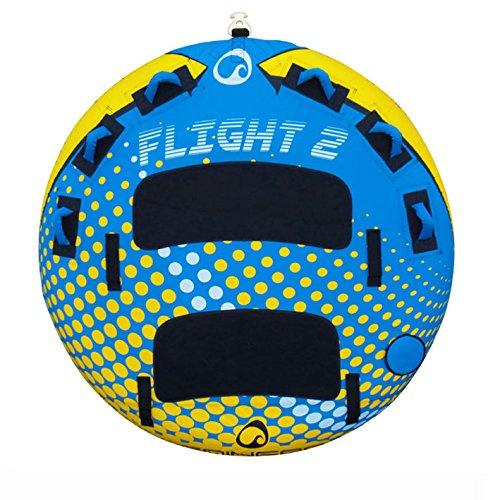 SPINERA Flight 2 - Tube, Wasserring, Wasserreifen, Towable für 2 Personen