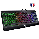 VicTsing Clavier Gamer Filaire Ultra Mince, Gaming Keyboard Tout...
