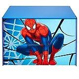 Marvel 474SIA Coffre de Rangement Spiderman, Bois, Bleu et Rouge, 60 x 39,5 x 39,5 cm
