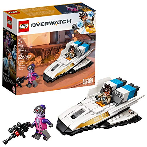 LEGO Overwatch Tracer & Widowmaker 75970 Building Kit (129 Pieces)