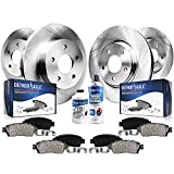 Detroit Axle - 293mm Front & 274mm Rear Disc Brake Rotors Pads Replacement for Subaru Legacy Outback - 10pc Set