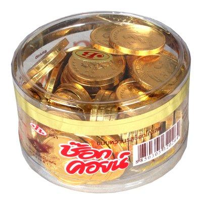 Ghasitaram Gifts Gold Coin Chocolates - 210 Grams