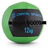 Capital Sports Wallba - Wall Ball, medecine Ball en Cuir synthétique pour...
