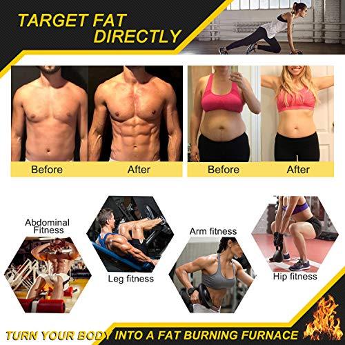 Hot Sweat Cream, Extreme Cellulite Slimming & Firming Cream, Body Fat Burning Massage Gel Weight Losing, Hot Serum Treatment for Shaping Waist, Abdomen and Buttocks Legs (Original) 7