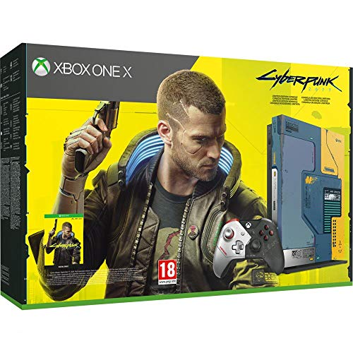 Pack Xbox One X Edition Limitée Cyberpunk 2077
