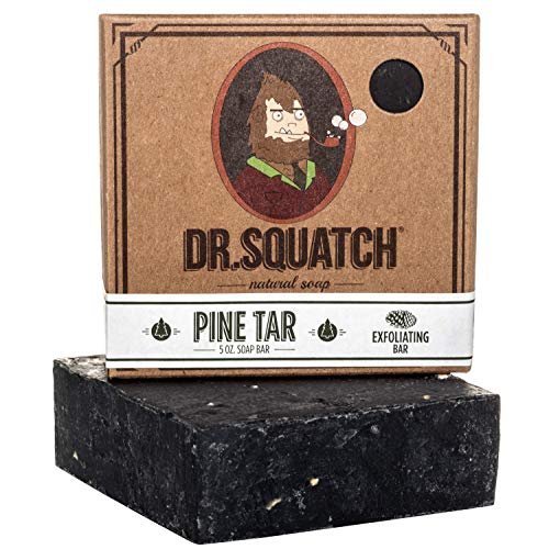 Dr. Squatch Pine Tar Soap – Mens Soap with...