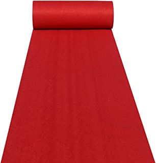 Aisle Runners Wedding Accessories 2mm Red Aisle Runner Carpet Rugs for Step and Repeat..