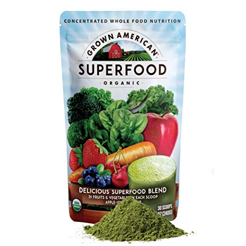 Grown American Superfood - 31 Organic Whole Fruits and...