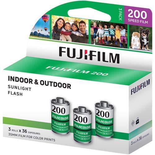 富士フイルム フジカラー 200 カラーネガフィルム ISO 200 35mm サイズ 36枚撮り CA-36 3パック